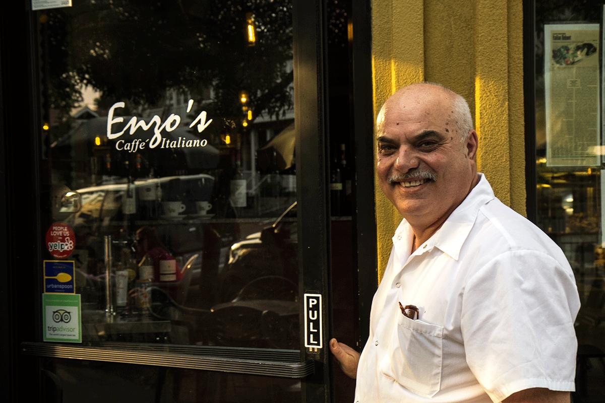 enzo proprietario caffè italiano a portland