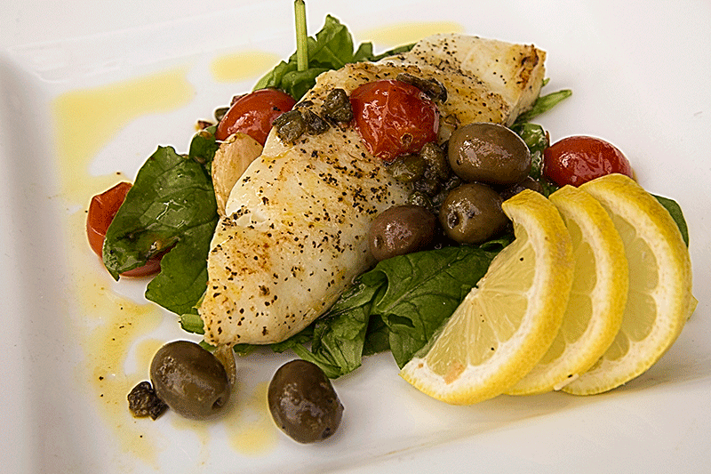 halibut all'acqua pazza