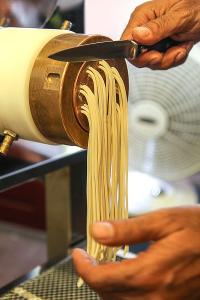 spaghetti al torchio