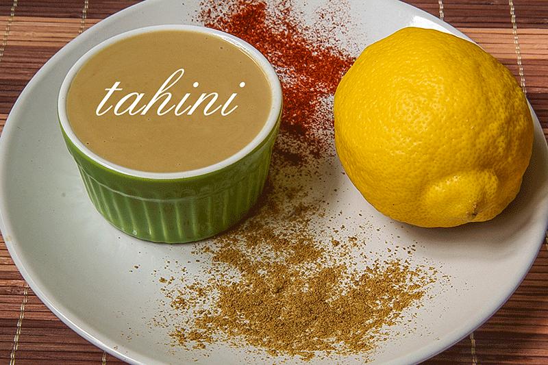 tahini limone paprika cumino