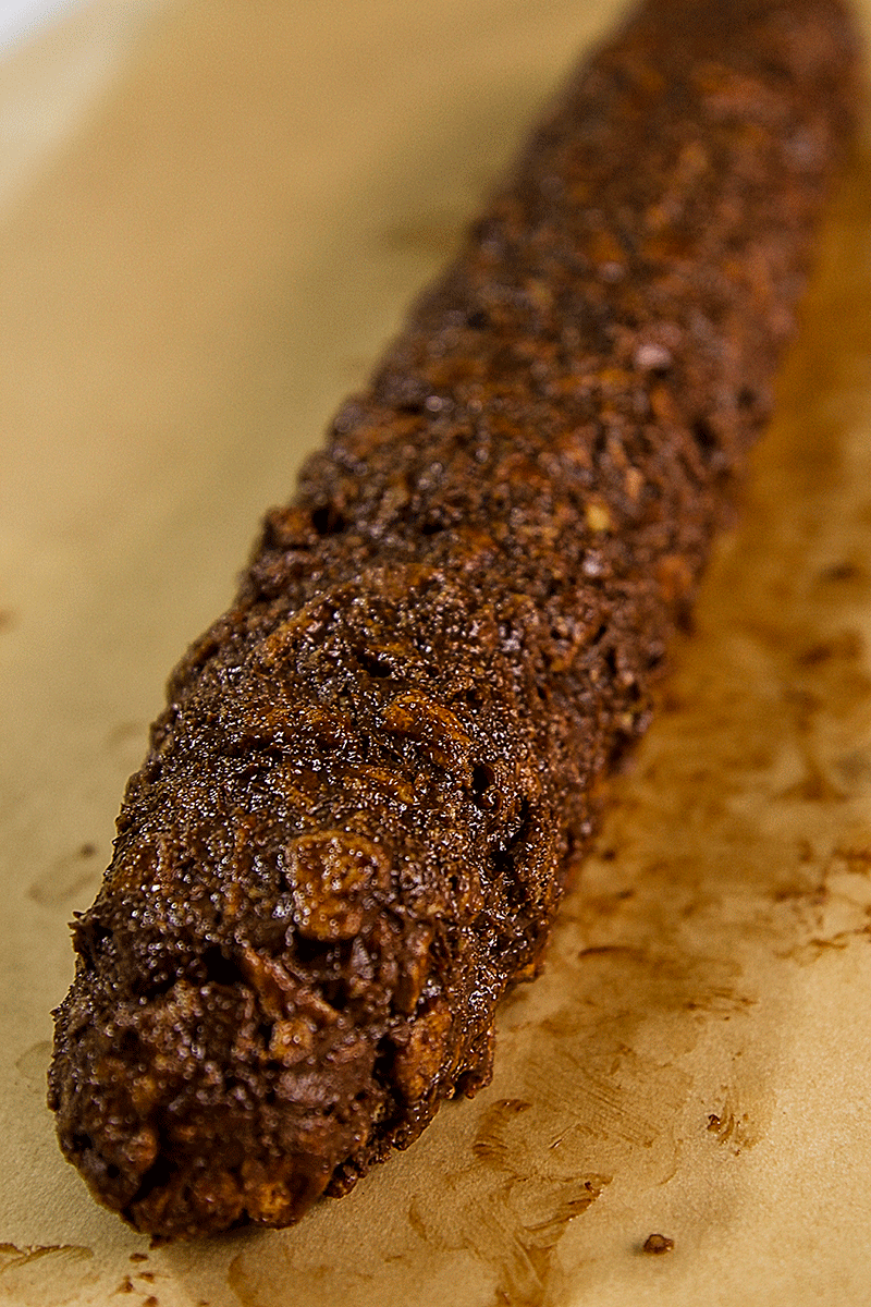impasto salame di cioccolato